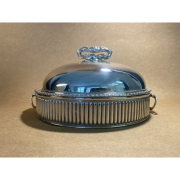 XIX Century silver plated tray