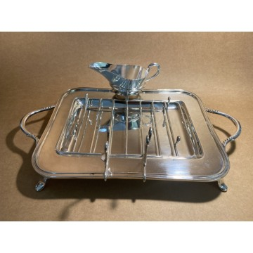 Silver Plated Asparagus Tray