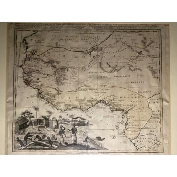 Homann Heirs West Africa Map